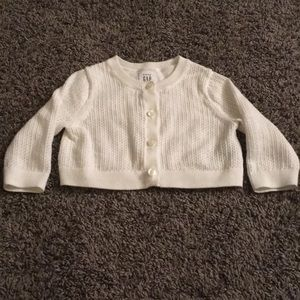 Baby gap 3-6 month cardigan